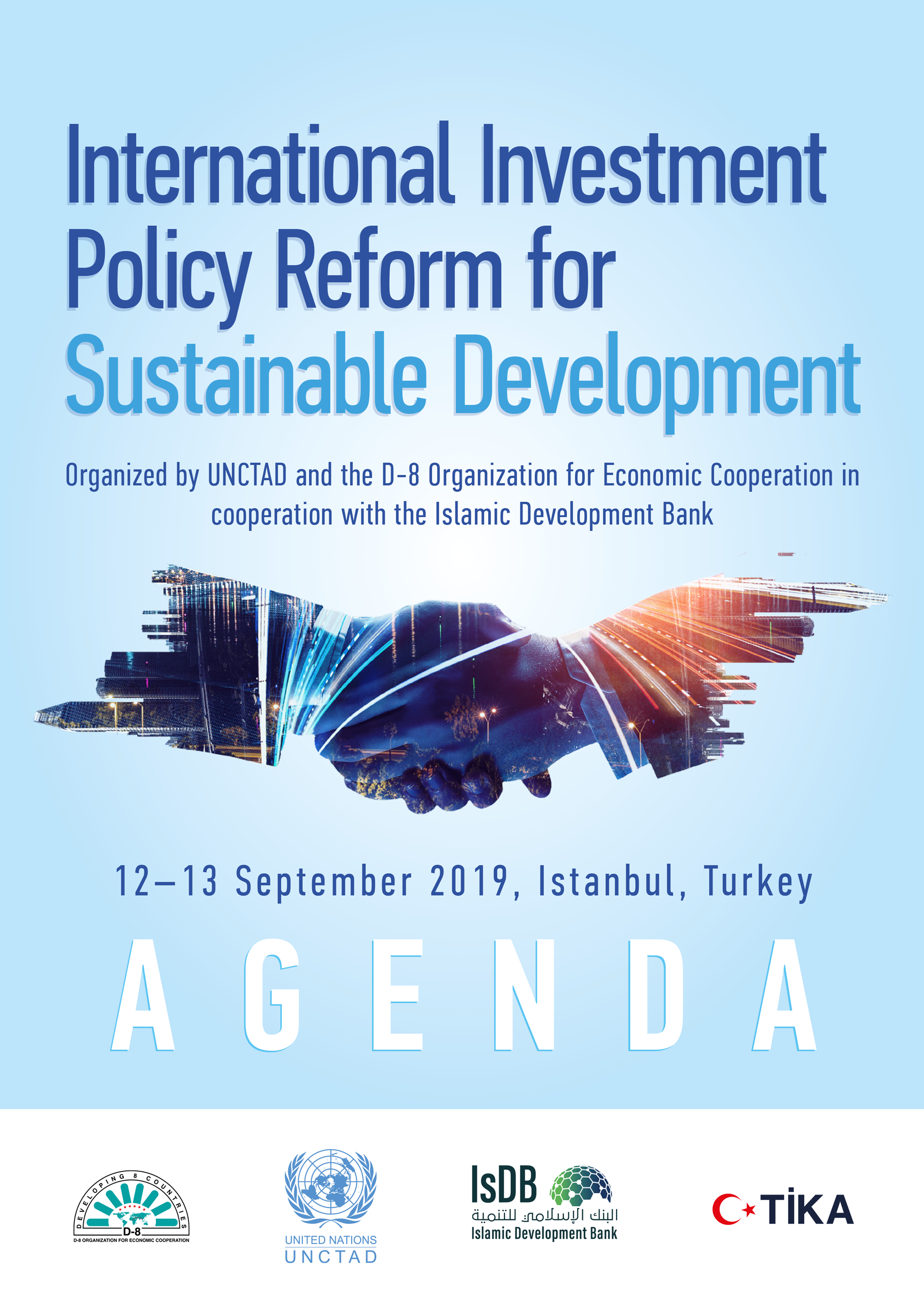 D-8 UNCTAD IsDB Agenda September 2019