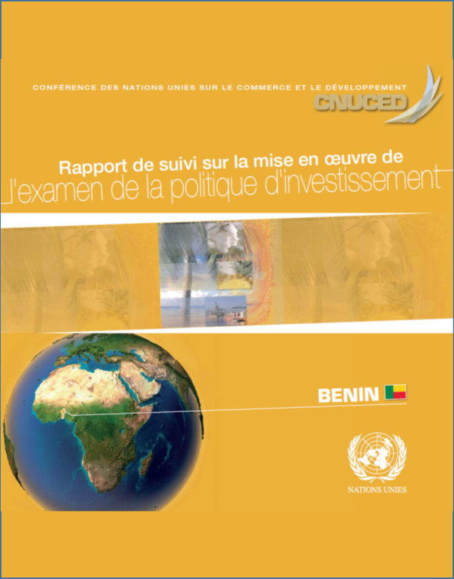 Report on the implementation of the Investment Policy Review of Benin