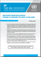 Investment Promotoin Agencies: Striving to Overcome the COVID-19 Challenge