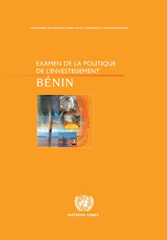 Investment Policy Review of Benin