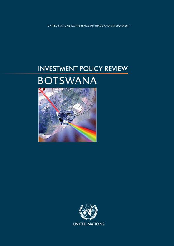 Investment Policy Review of Botswana