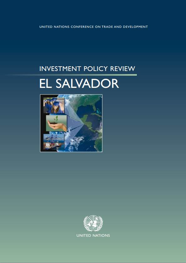 Investment Policy Review of El Salvador