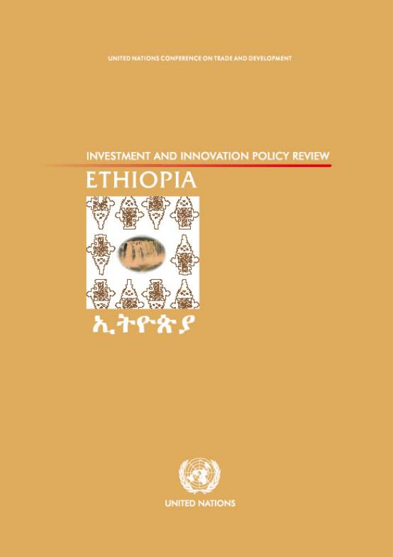 Investment Policy Review of Ethiopia