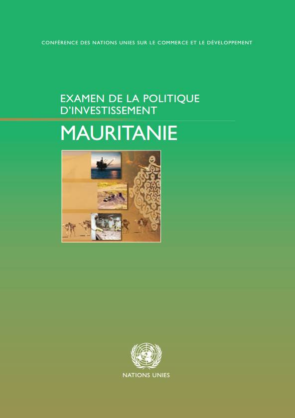 Investment Policy Review of Mauritania