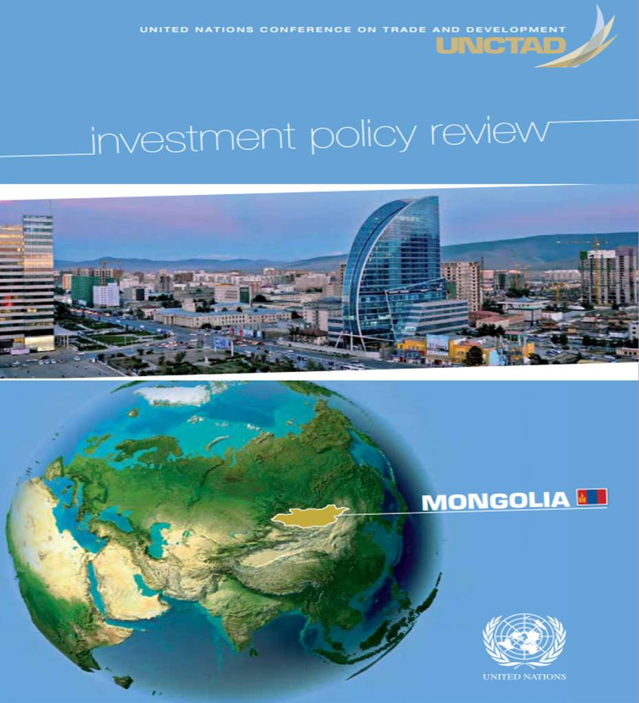 Investment Policy Review of Mongolia