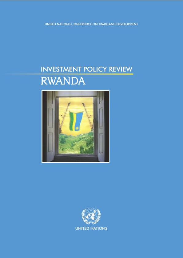 Investment Policy Review of Rwanda