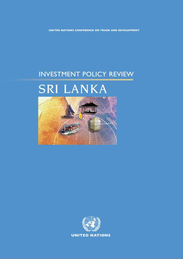 Investment Policy Review of Sri Lanka