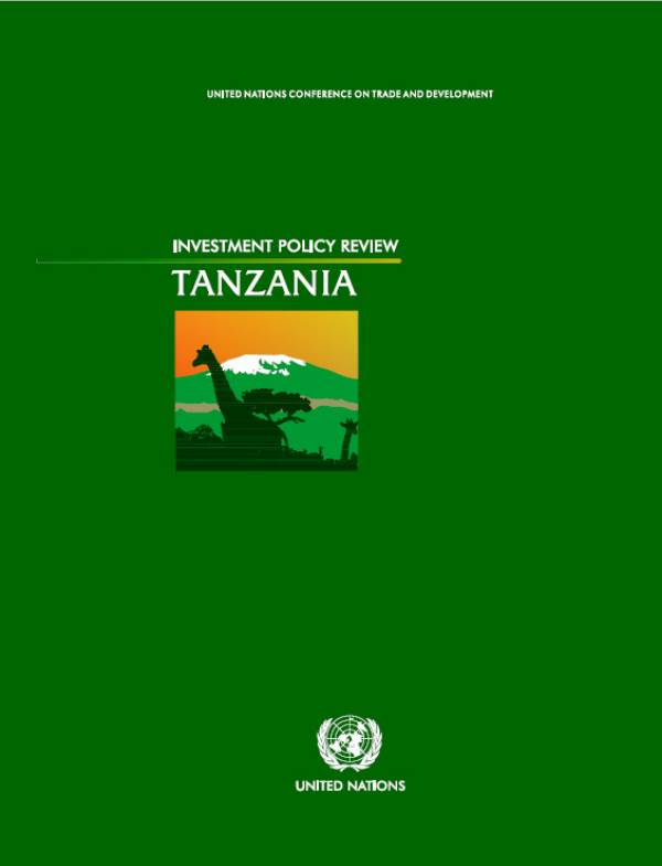 Investment Policy Review of United Republic of Tanzania