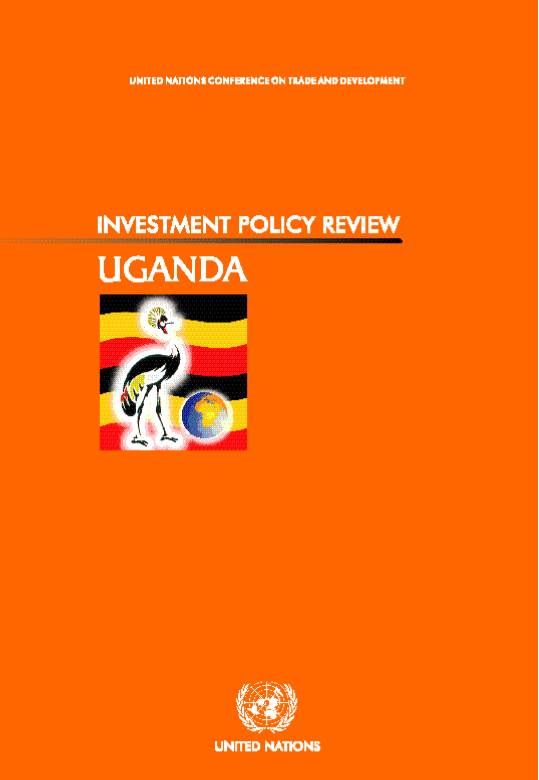 Investment Policy Review of Uganda