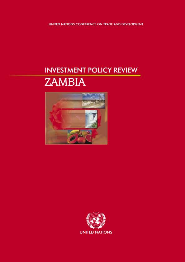 Investment Policy Review of Zambia