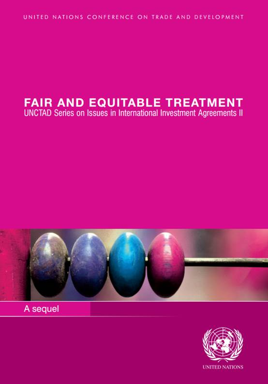 Pink Series Sequel: Fair and Equitable Treatment