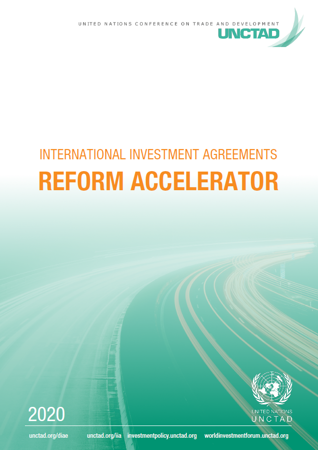 International Investment Agreements Reform Accelerator