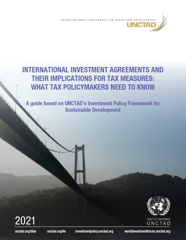 International Investment Agreements and Their Implications for Tax Measures