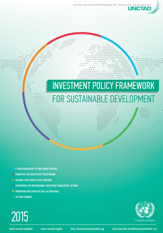UNCTAD Investment Policy Framework for Sustainable Development