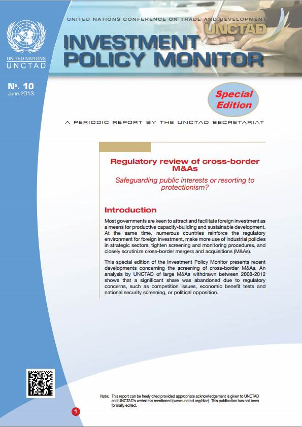 Investment Policy Monitor No. 10