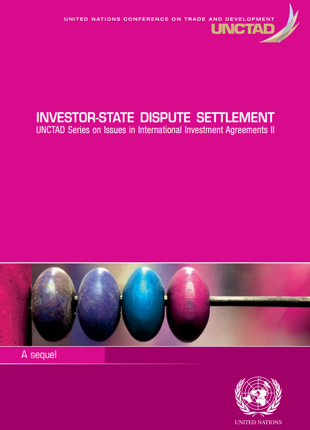 Pink Series Sequel: Investor-State Dispute Settlement