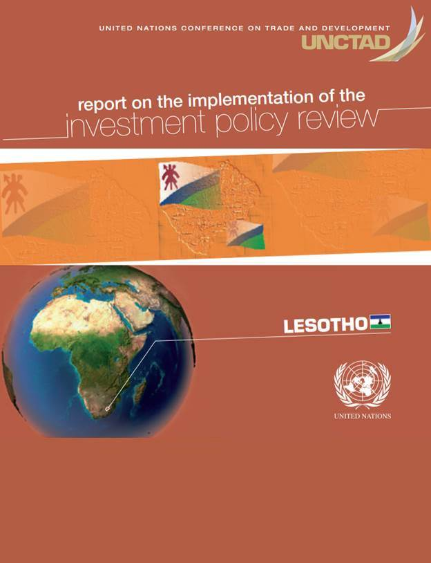 Report on the Implementation of the Investment Policy Review of Lesotho
