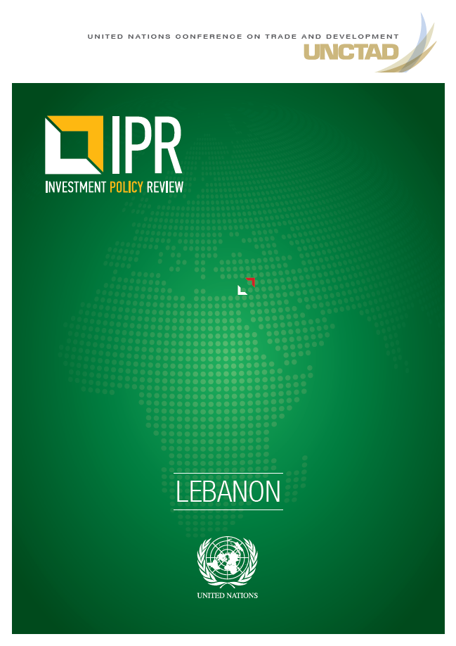 Investment Policy Review of Lebanon