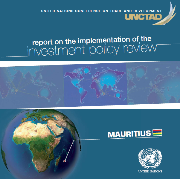 Report on the implementation of the Investment Policy Review of Mauritius