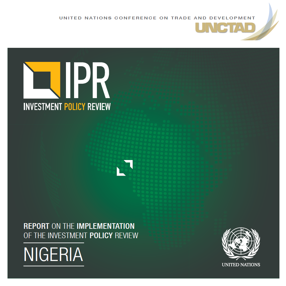 Report on the Implementation of the Investment Policy Review of Nigeria