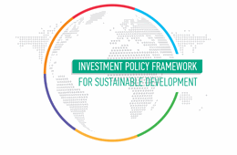 Investment Policy Framework for Sustainable Development