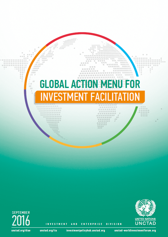 UNCTAD Global Action Menu for Investment Facilitation